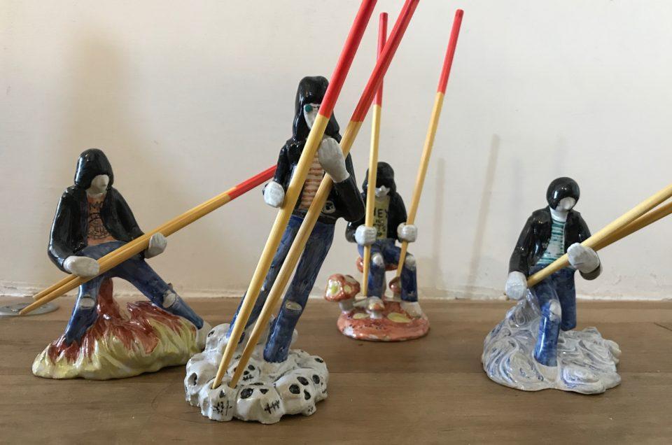 Ramones  chopstick stands